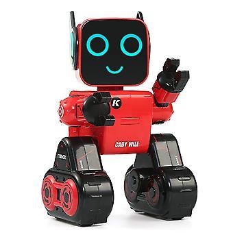 Uzaktan Kumandalı Sevimli Kumbaralı Ses Kontrolü Akıllı Robot