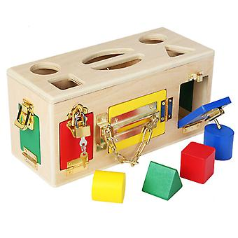 Shape lock box