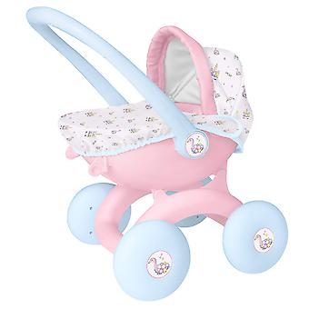 Hti toys & games babyboo 4 in 1 my first pram | childrens baby doll pushchair stroller toy great for