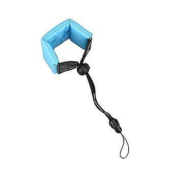 Jjc st-6b floating foam strap for camera - blue
