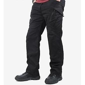 Tactical Cargo Pants Men, Many Pockets Stretch Flexible Man Casual Trousers