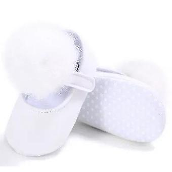 Beautiful Baby Girl Princess Soft Plush Pom Shoes