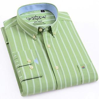 Pitkähihainen Oxford Plaid -paita