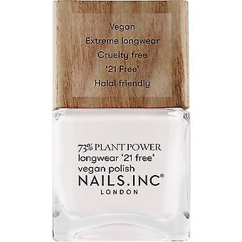 Nails inc Plant Power Nail Polish Collection - Free Time Is Me Time 14ml (12997)