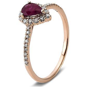 Luna Creation Princess Ring Color Stone 1F008R458-1 - Ring bredde: 58