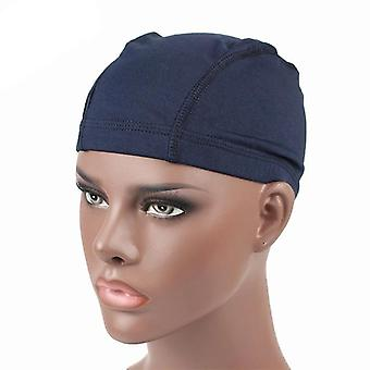 Spandex Seamless Dome Cap, Stretchy Headwear, Turban Hat