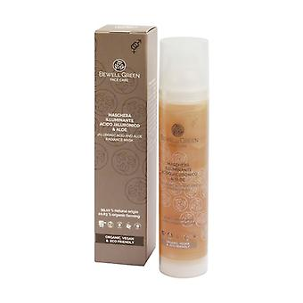 Radiant Mask with Aloe and Hyaluronic Acid 100 ml of gel