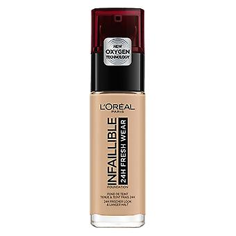 Crème make-up base ikke-brennbar 24t l'oreal utgjør 235 honning (30 ml)