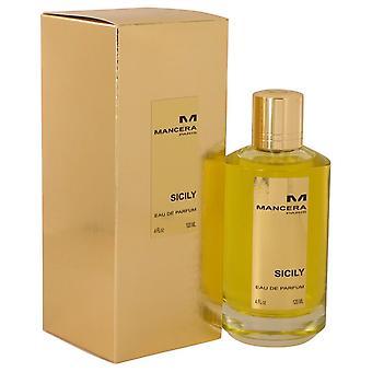 Mancera Sicily Eau De Parfum Spray (Unisex) por Mancera 4 oz Eau De Parfum Spray