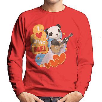 Sooty så jag älskar att vara mig män's Sweatshirt