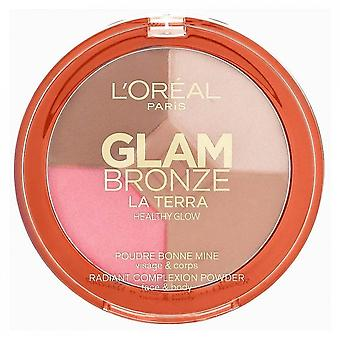 L'Oreal Glam Bronze gesunde Glühen Palette - 01 Licht Laguna