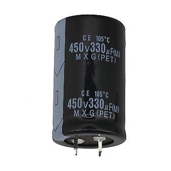 Snap-in Aluminium Electrolytic Condensateur 450V 330UF Composant électronique