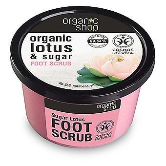 Organic Shop Exfoliante para los Pies de Loto de Azúcar 250 ml