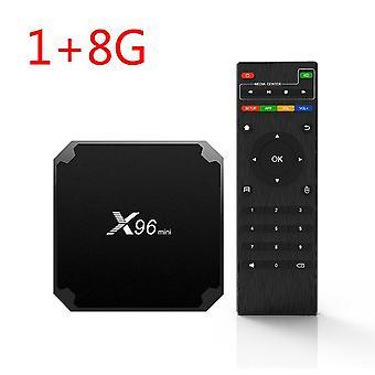 Nuevo x96mini para Android 9.0x96 mini caja de tv inteligente s905w quad core soporte 2.4g caja de medios wifi inalámbricos decodificador decodificador