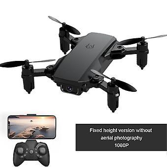 Mini 2.4ghz drone 4k kamera hd vikbar drone quadcopter återvänder till fpv ett klick följ mig rc dron leksak drone 4k profesional gåva