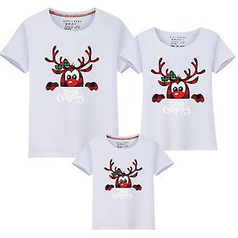 Familie Ny Jul Far Mor Kids T-shirts