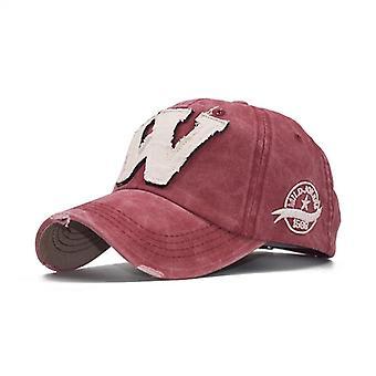 Embroidery Letter W Baseball Snapback Caps / Bone Casquette Hat