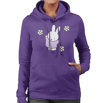 Miffy dansar med tusenskönor kvinnor & s Hooded Sweatshirt