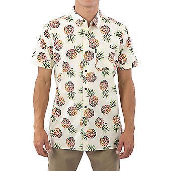Rip Curl Caicos kortärmad skjorta i gult