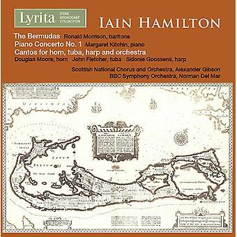 Hamilton, Iain / Morrison, Ronald / Moore, Douglas - Iain Hamilton: The Bermudas [CD] USA import