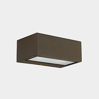 LEDS C4 Nemesis LED 90x220mm Ulko-LED Alas Vaaleanruskea, Opal IP65 17,5W 2700K