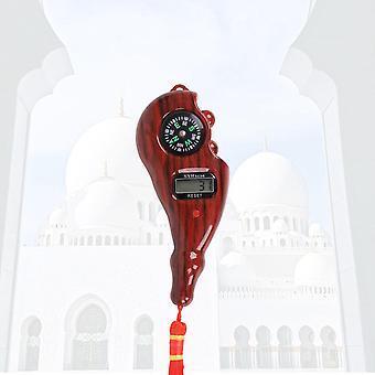 Digitale Tasbih elektronische Rosenkranz Tally Zähler mit Kompass