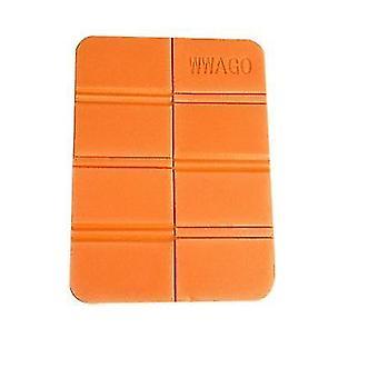 オレンジの屋外シートクッション折りたたみポータブルピクニックマット防水と防湿マットx2292