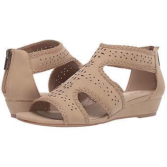 Easy Street Womens 30-1726 lederen open teen casual enkelbandje sandalen