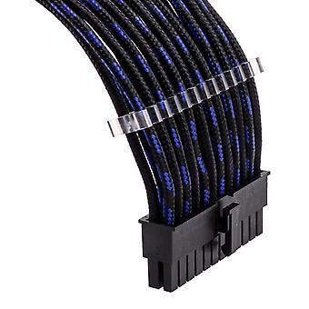 Phanteks extension kábel Combo Kit S-minta - fekete/kék