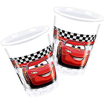 Disney Car Cups (Pack Of 8)