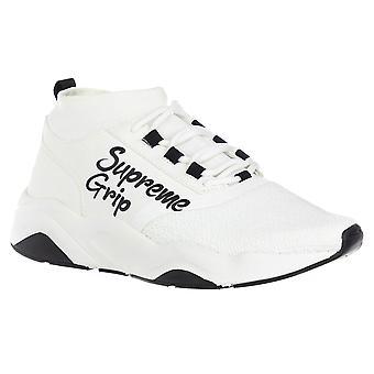 Supreme Grip Sneakers Hombre Blanco