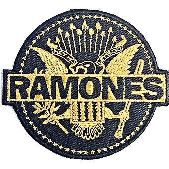Ramones - Gold Seal Standard-Patch