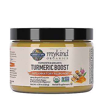 Jardin de vie myKind Organics Curcuma Boost Poudre, 4,76 Oz