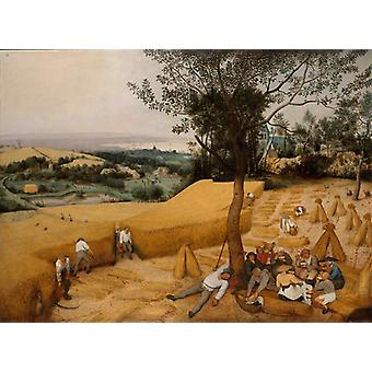 The Harvesters (julyaugust),pieter Bruegel The Elder Art Reproduction.modern Hd Art Print Poster,canvas Prints Wall Art For Office Home Decor Pictures