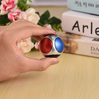 Metallic Round Ball Shape Hand Spinner Adhd Toy Stress Relief per bambini adulti