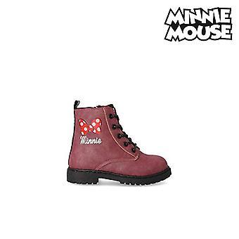 Stivali casual per bambini Minnie Mouse Rosso