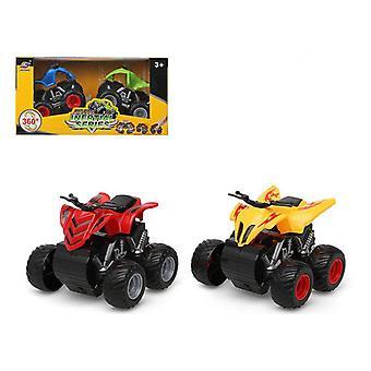 Set of 2 Vehicles Big Foot 360º 110837