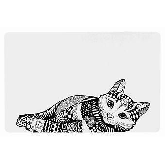 Trixie Zentangle Onderzetter (Katten , Voer- en drinkbakken , Etens- en waterbakken)