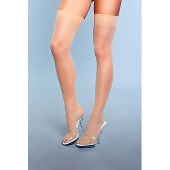 Favorite Day Seam Stockings - Nude