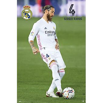 Real Madrid FC Juliste Ramos 26