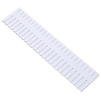 (8PCS) Adjustable Drawer Dividers Organiser Socks Storage Separators