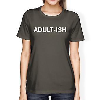 غراي أدولتيش المرأة باردة المحملات قميص مضحك الرقبة طاقمها رسومات