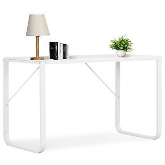 Tietokonepöytä valkoinen 120x60x73 cm