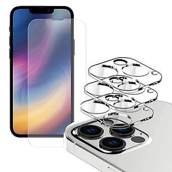Iphone 13 PRO [4-PACK] 2 x Objektivschutz + 2 x gehärtetes Glas