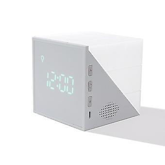 Magic Cube Led Budzik Night Light Touch Sensor Lampa z kontrolą głosową (szary)