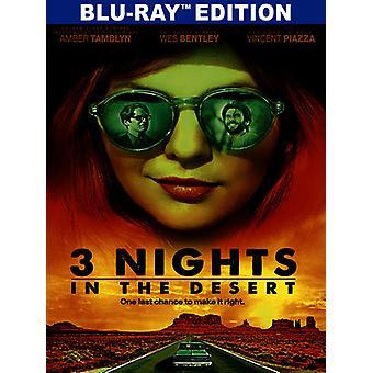 3 netter i ørkenen [Blu-ray] USA import