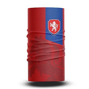 ネックガイターズフットボールヘッドスカーフワールドカップファン男性と女性多機能カラースポーツライディングサンスクリーンビブ - チェコ共和国チーム