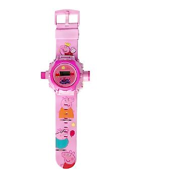 Peppa Pig Printed 45 Styles Projection Watch