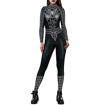 Halloween Naiset Spiderman Iron-Man Jumpsuit Cosplay Puku Naamiaispuku