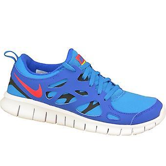 Nike бесплатные 2 Gs 443742-404 Детская обувь Обувь для бега
